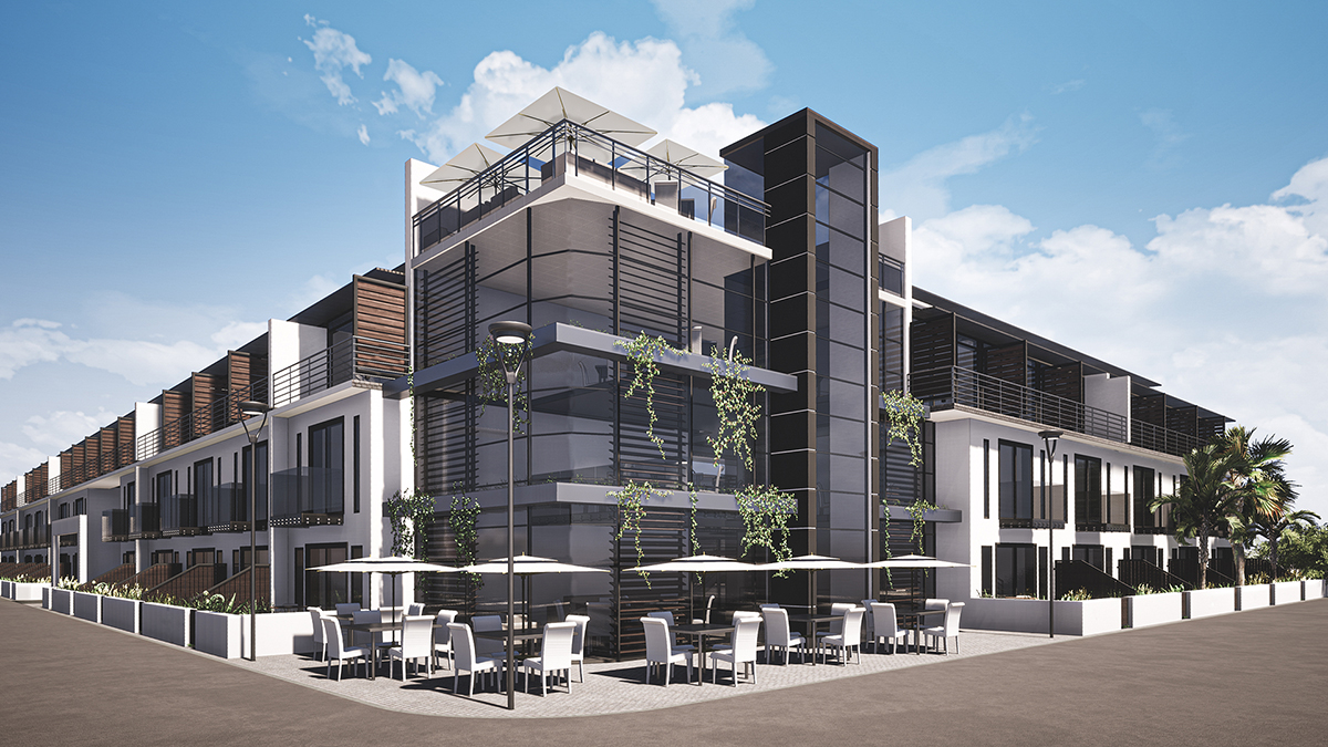 Architects Mixed Use apartments Western Cape